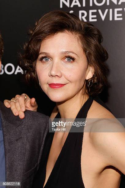 Actress Maggie Gyllenhaal attends the 2015 National Board of Review Gala at Cipriani 42nd Street on January 5 2016 in New York City