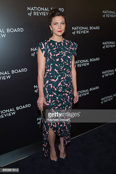 Actress Maggie Gyllenhaal attends the 2016 National Board of Review Gala at Cipriani 42nd Street on January 4 2017 in New York City