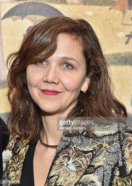 Actress Maggie Gyllenhaal attends the 2016 New York City Center Gala at New York City Center on October 24 2016 in New York City