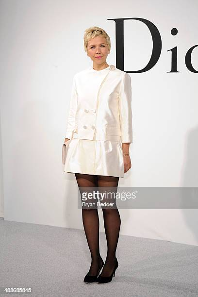 Actress Maggie Gyllenhaal attends the Christian Dior Cruise 2015 Show on May 7 2014 in Brooklyn New York City