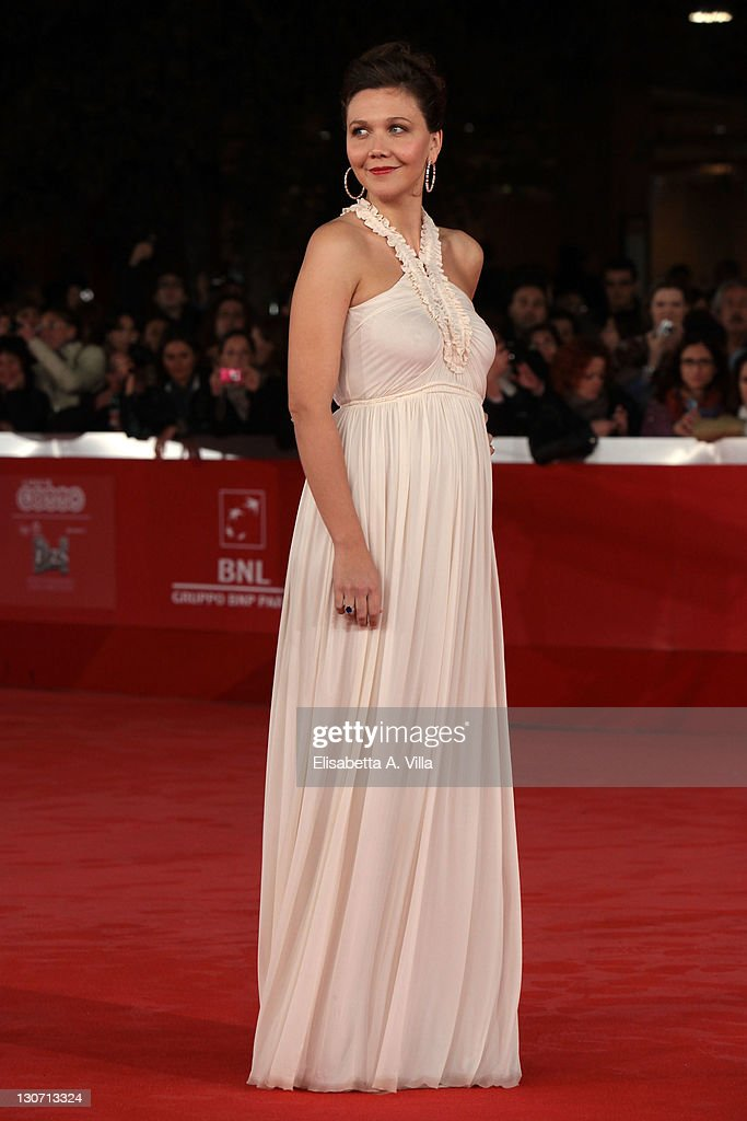 Actress Maggie Gyllenhaal attends the 'Hysteria' Premiere during the 6th International Rome Film Festival at Auditorium Parco Della Musica on October 28, 2011 in Rome, Italy.