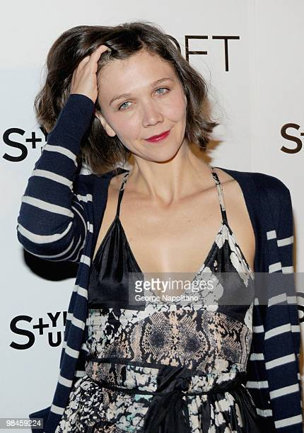 Actress Maggie Gyllenhaal attends the LOFT launch of Style Studio at The Bowery Hotel on April 14 2010 in New York City