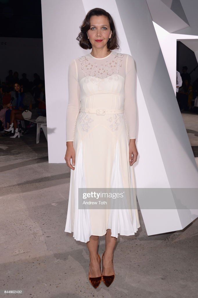 Self-Portrait Spring Summer 2018 - Front Row - New York Fashion Week : News Photo