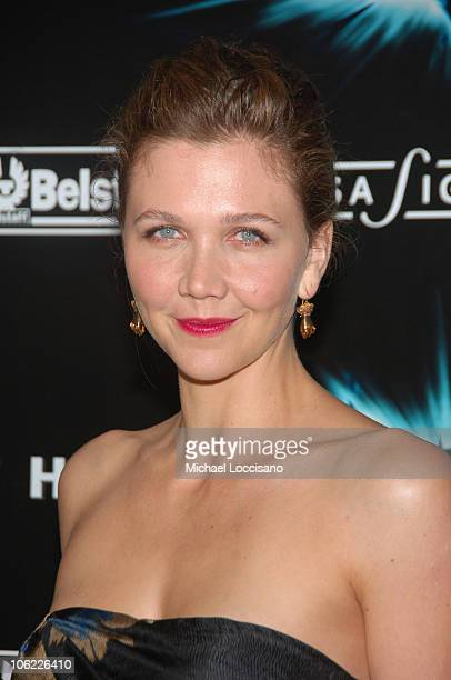 """Actress Maggie Gyllenhaal attends the """"The Dark Knight"""" premiere at the AMC Loews Lincoln Square theater on July 14, 2008 in New York City."""
