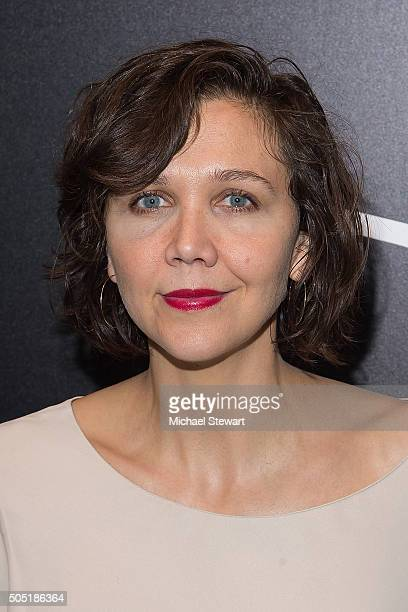 Actress Maggie Gyllenhaal attends the Vandal Grand Opening at Vandal on January 15 2016 in New York City