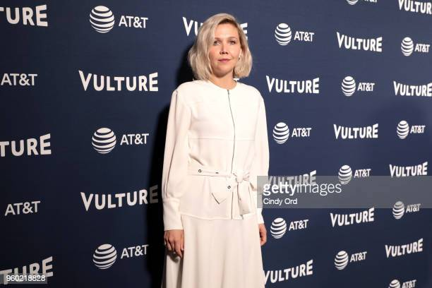 Actress Maggie Gyllenhaal attends Vulture Festival Presented By ATT MAGGIE GYLLENHAAL IN FIVE ACTS at Milk Studios on May 19 2018 in New York City