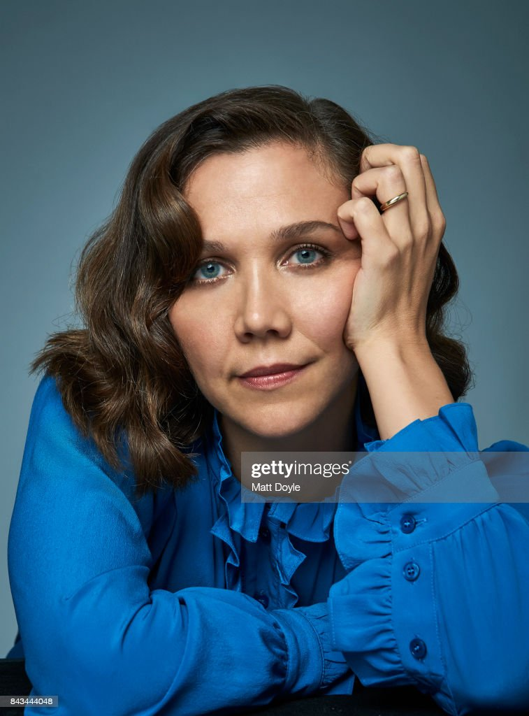 Maggie Gyllenhaal, Back Stage, September 6, 2017