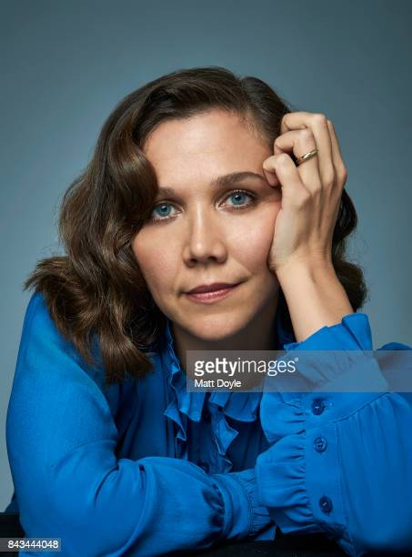 Actress Maggie Gyllenhaal is photographed for Back Stage on August 22 in New York City PUBLISHED COVER