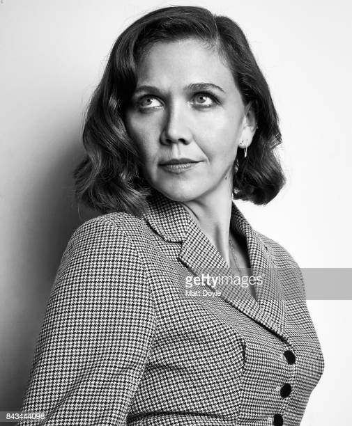 Actress Maggie Gyllenhaal is photographed for Back Stage on August 22 in New York City