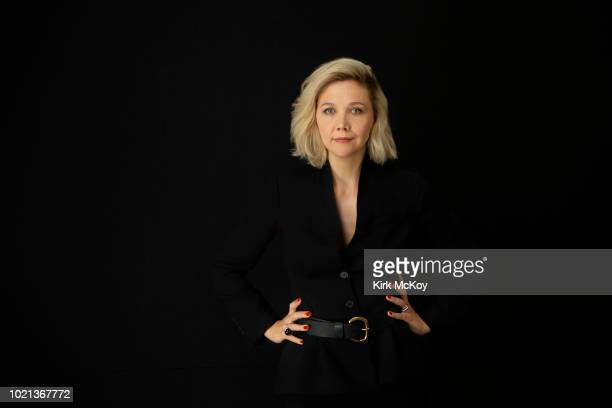 Actress Maggie Gyllenhaal is photographed for Los Angeles Times on April 7 2018 in Los Angeles California PUBLISHED IMAGE CREDIT MUST READ Kirk...