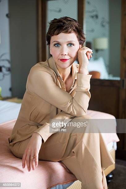 Actress Maggie Gyllenhaal is photographed for USA Today on July 21 2014 in New York City