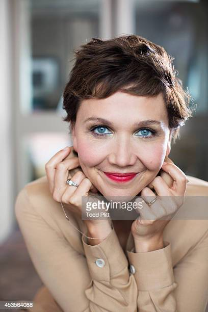 Actress Maggie Gyllenhaal is photographed for USA Today on July 21 2014 in New York City PUBLISHED IMAGE