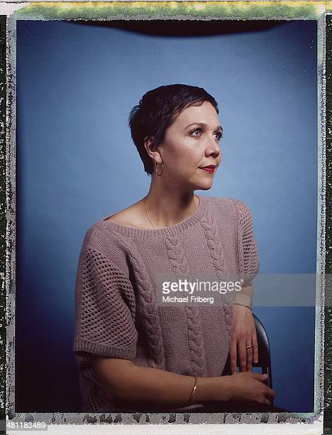 Actress Maggie Gyllenhaal is photographed for Variety on January 18 2014 in Park City Utah