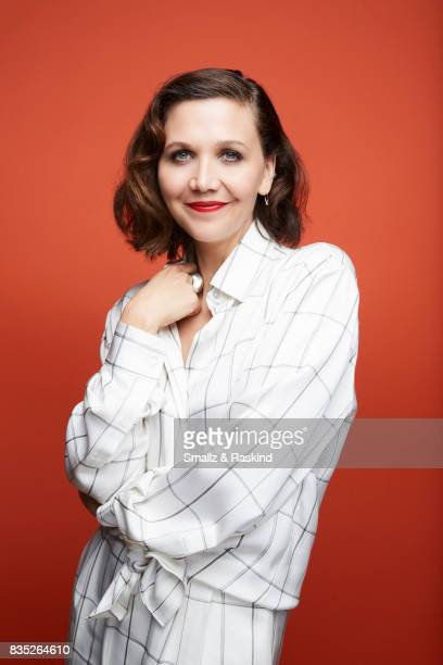 Actress Maggie Gyllenhaal poses for portrait session at the 2017 Summer TCA session for HBO's 'The Deuce' on July 25 2017 in Beverly Hills California