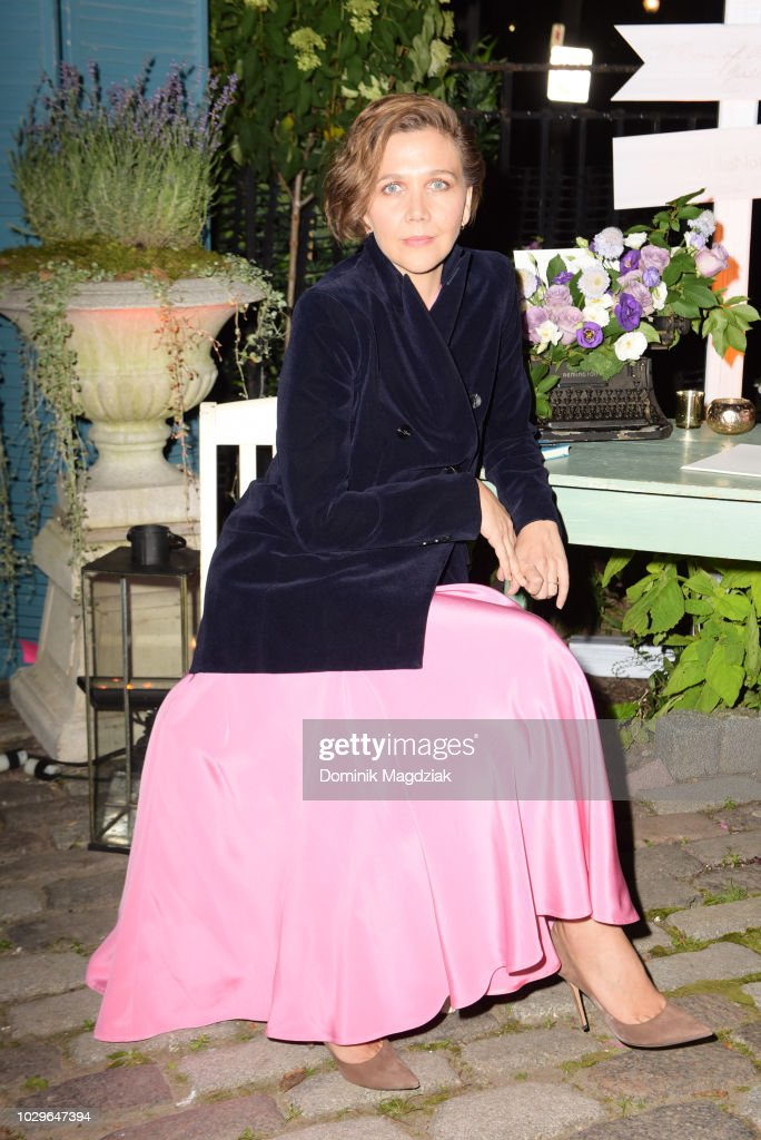 Actress Maggie Gyllenhall attends the Mongrel House presented by Autograph Hotel Collections during the Toronto International Film Festival on September 8, 2018 in Toronto, Canada.