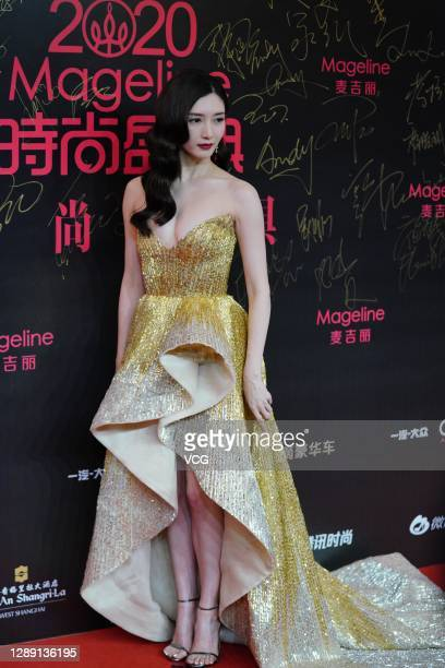 Actress Maggie Jiang Shuying attends 2020 COSMO Glam Night on... News Photo  - Getty Images