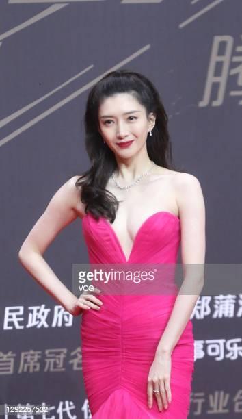 Actress Maggie Jiang Shuying attends 2020 Tencent Video Star Awards on December 20, 2020 in Nanjing, Jiangsu Province of China.