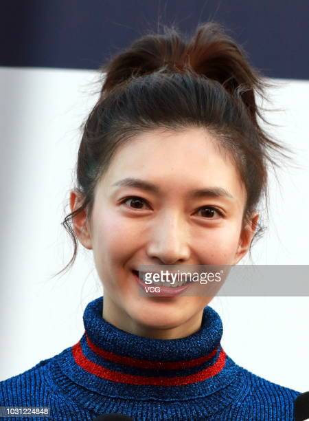 Actress Maggie Jiang Shuying attends Tommy Hilfiger Tommynow Icons Fall 2018 Runway Show at Shanghai Port International Cruise Terminal on September...