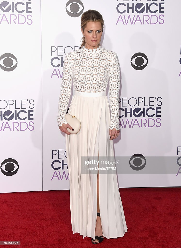 People's Choice Awards 2016 - Arrivals : News Photo