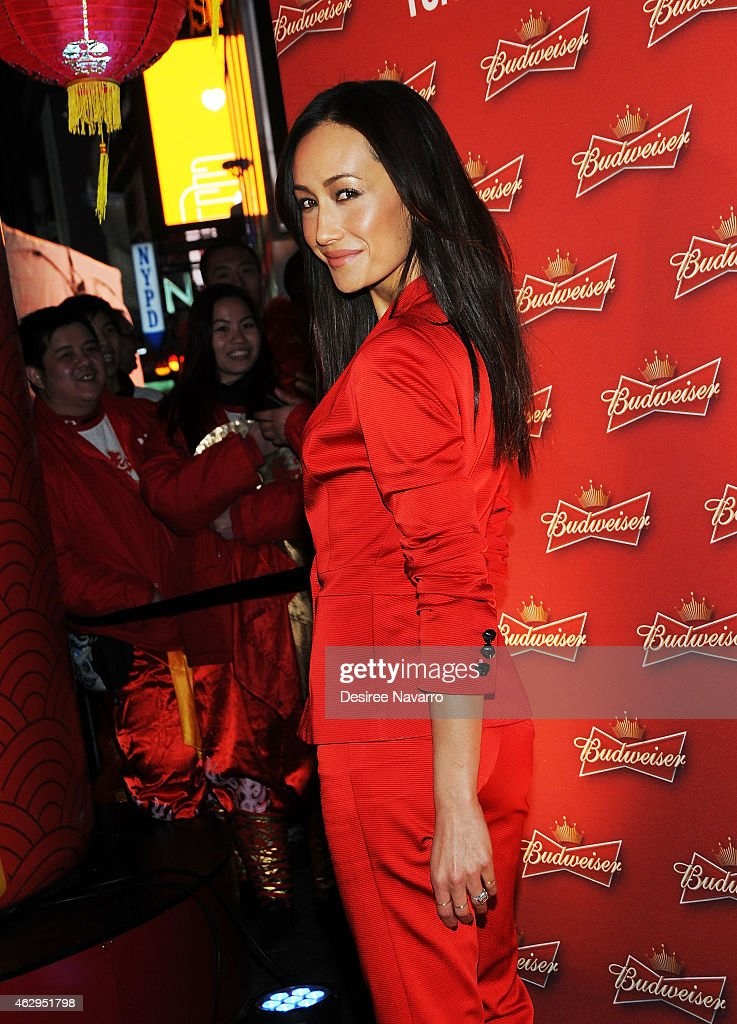 Maggie Q Toasts The Chinese New Year