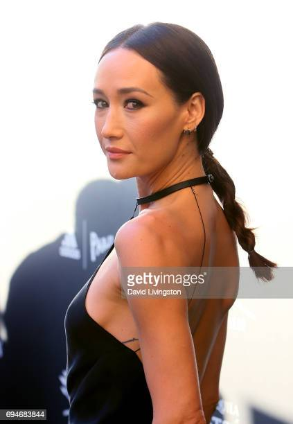 Actress Maggie Q attends Shepherd Conservation Society's 40th Anniversary Gala For The Oceans at Montage Beverly Hills on June 10 2017 in Beverly...
