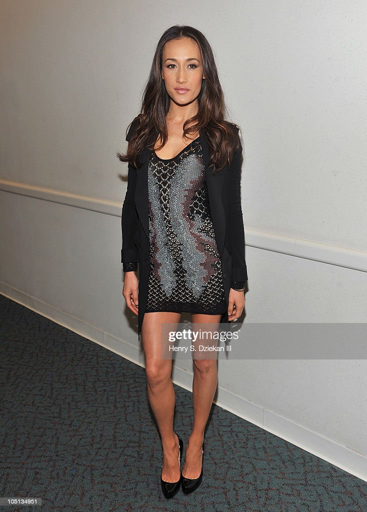 Actress Maggie Q attends the 2010 New York Comic Con at the Jacob Javitz Center on October 10, 2010 in New York City.