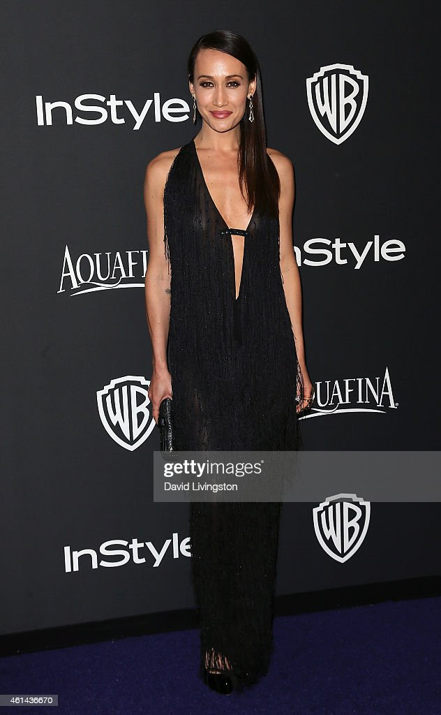 Actress Maggie Q attends the 2015 InStyle and Warner Bros. 72nd Annual Golden Globe Awards Post-Party at The Beverly Hilton Hotel on January 11, 2015 in Beverly Hills, California.
