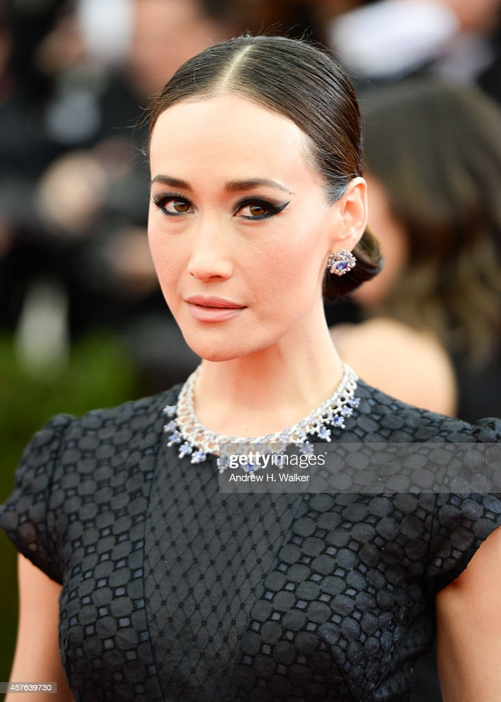 Actress Maggie Q attends the 'Charles James: Beyond Fashion' Costume Institute Gala at the Metropolitan Museum of Art on May 5, 2014 in New York City.