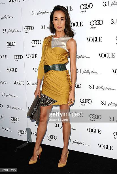 Actress Maggie Q attends the one year anniversary of the 3.1 Phillip Lim store on July 15, 2009 in West Hollywood, California.