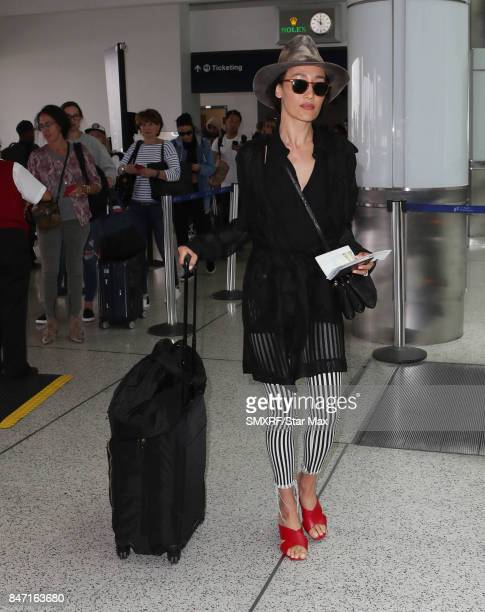 Actress Maggie Q is seen on September 14 2017 in Los Angeles California
