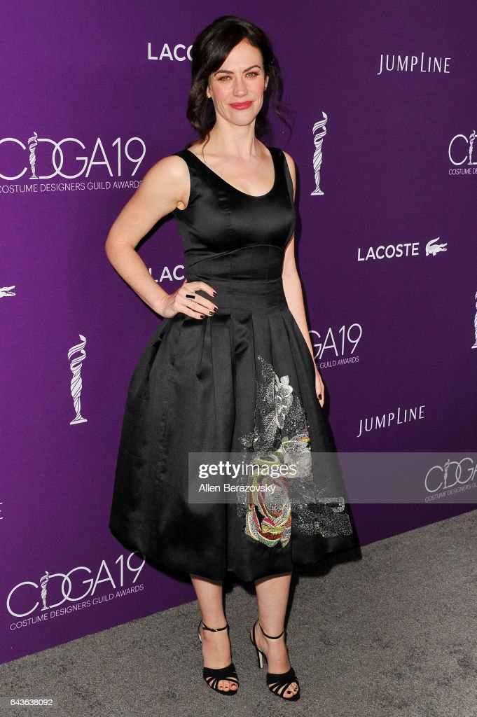 Actress Maggie Siff attends the 19th CDGA (Costume Designers Guild Awards) at The Beverly Hilton Hotel on February 21, 2017 in Beverly Hills, California.
