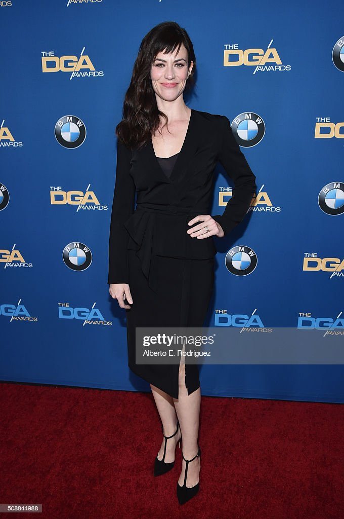 Actress Maggie Siff attends the 68th Annual Directors Guild Of America Awards at the Hyatt Regency Century Plaza on February 6, 2016 in Los Angeles, California.