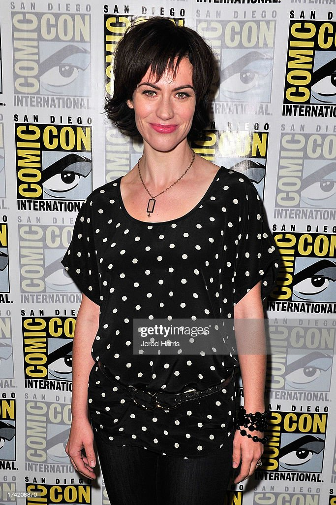 Actress Maggie Siff attends the 'Sons Of Anarchy' press line during Comic-Con International 2013 at San Diego Convention Center on July 21, 2013 in San Diego, California.