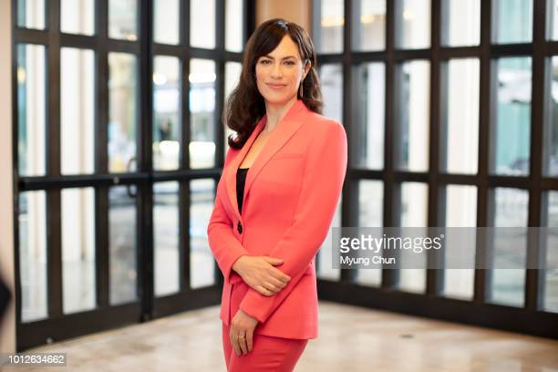 Actress Maggie Siff is photographed for Los Angeles Times on March 22 2018 in Los Angeles California PUBLISHED IMAGE CREDIT MUST READ Myung J...