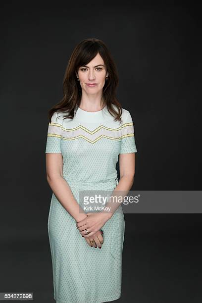 Actress Maggie Siff is photographed for Los Angeles Times on May 9 2016 in Los Angeles California PUBLISHED IMAGE CREDIT MUST READ Kirk McKoy/Los...