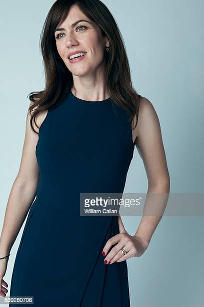Actress Maggie Siff is photographed for Los Angeles Times on May 9, 2016 in Los Angeles, California. PUBLISHED IMAGE.