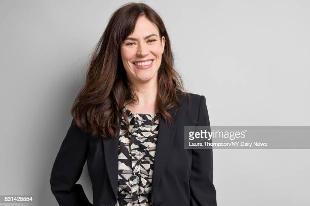 Actress Maggie Siff photographed for NY Daily News on April 22 in New York City