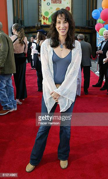 """Actress Maggie Wheeler arrives at the World Premiere of """"LA Twister"""" on June 30, 2004 at the Grauman's Chinese Theatre, in Hollywood, California."""