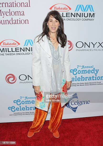 Actress Maggie Wheeler attends the International Myeloma Foundation's 7th Annual Comedy Celebration Benefiting The Peter Boyle Research Fund hosted...