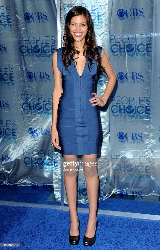 Actress Mahaley Hessam arrives at the 2011 People's Choice Awards at Nokia Theatre L.A. Live on January 5, 2011 in Los Angeles, California.