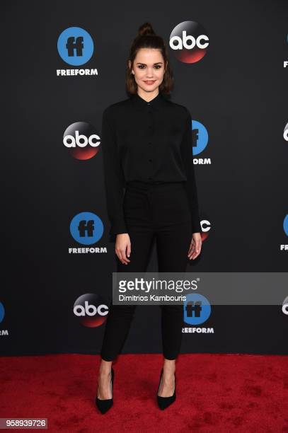 Actress Maia Mitchell attends during 2018 Disney ABC Freeform Upfront at Tavern On The Green on May 15 2018 in New York City