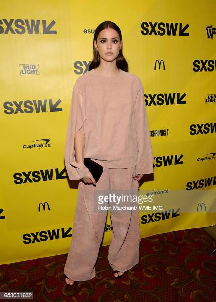 Actress Maia Mitchell attends Imperative Entertainment's 'Hot Summer Nights' SXSW world premiere at Paramount Theatre on March 13 2017 in Austin Texas