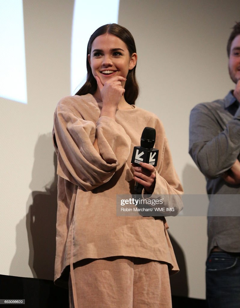 Actress Maia Mitchell attends Imperative Entertainment's 'Hot Summer Nights' SXSW World Premiere at Paramount Theatre on March 13, 2017 in Austin, Texas.