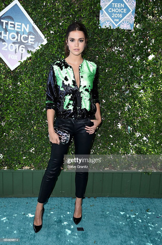 Actress Maia Mitchell attends Teen Choice Awards 2016 at The Forum on July 31, 2016 in Inglewood, California.