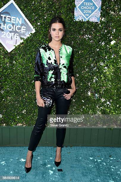 Actress Maia Mitchell attends Teen Choice Awards 2016 at The Forum on July 31 2016 in Inglewood California