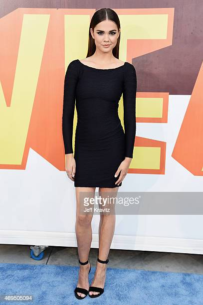 Actress Maia Mitchell attends The 2015 MTV Movie Awards at Nokia Theatre L.A. Live on April 12, 2015 in Los Angeles, California.