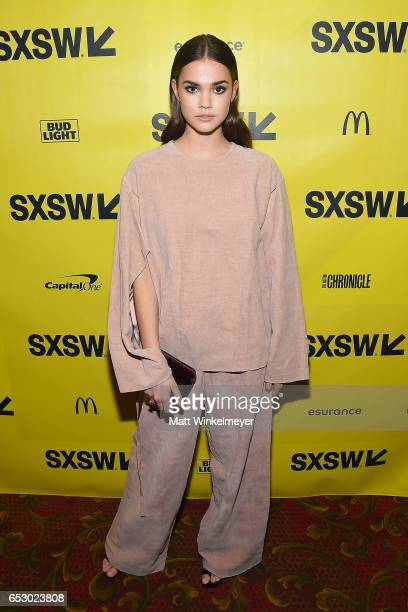 Actress Maia Mitchell attends the 'Hot Summer Nights' premiere 2017 SXSW Conference and Festivals on March 13 2017 in Austin Texas