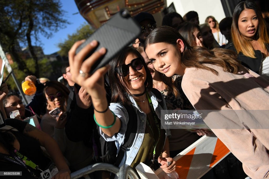 Actress Maia Mitchell attends the 'Hot Summer Nights' premiere 2017 SXSW Conference and Festivals on March 13, 2017 in Austin, Texas.