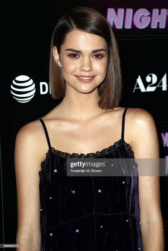 Actress Maia Mitchell attends the Screening of A-24's 'Hot Summer Nights' at the Pacific Theatres at The Grove on July 11, 2018 in Los Angeles, California.