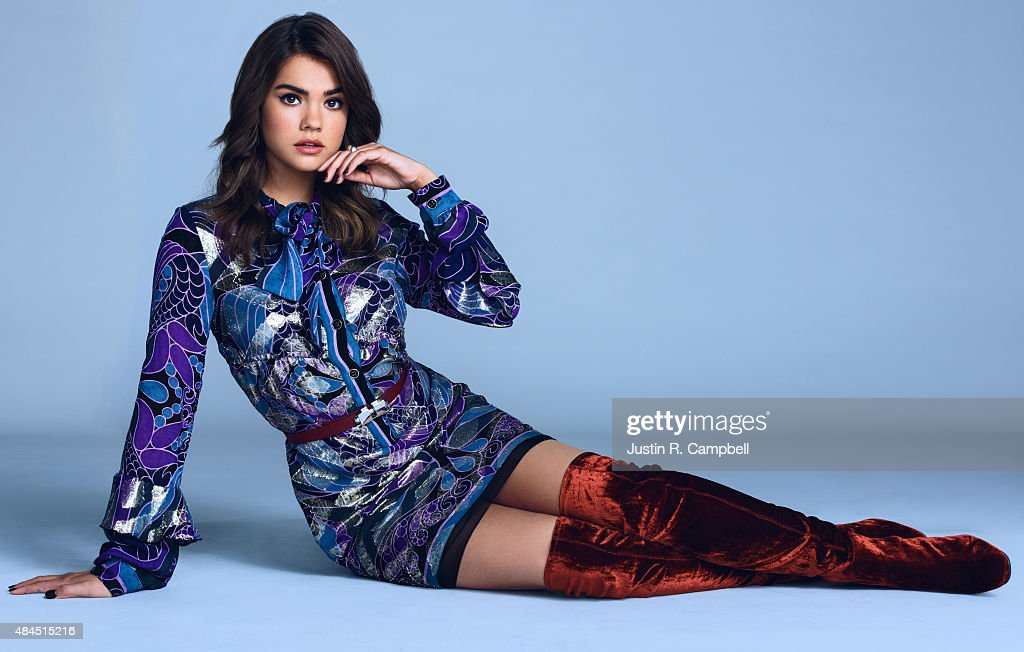 Actress Maia Mitchell is photographed for Just Jared on July 27, 2015 in Los Angeles, California.